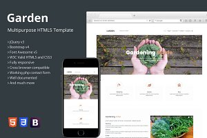 Garden - Multipurpose HTML5 Template