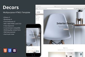 Decors - Multipurpose HTML5 Template