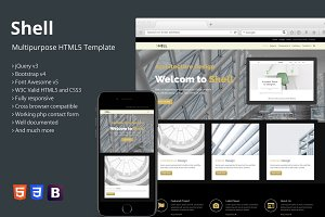 Shell - Multipurpose HTML5 Template