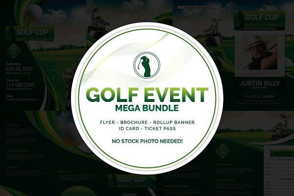 Golf Event Mega Template Bundle