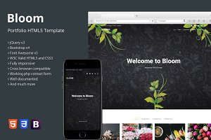 Bloom - Portfolio HTML5 Template