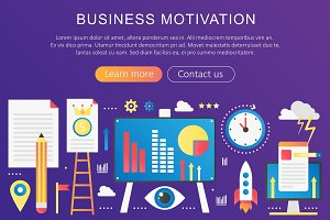Business motivation concept