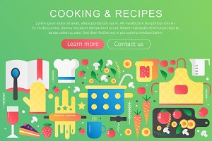 Cooking and recipes concept
