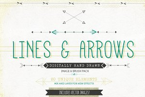 Lines & Arrows Vector Images
