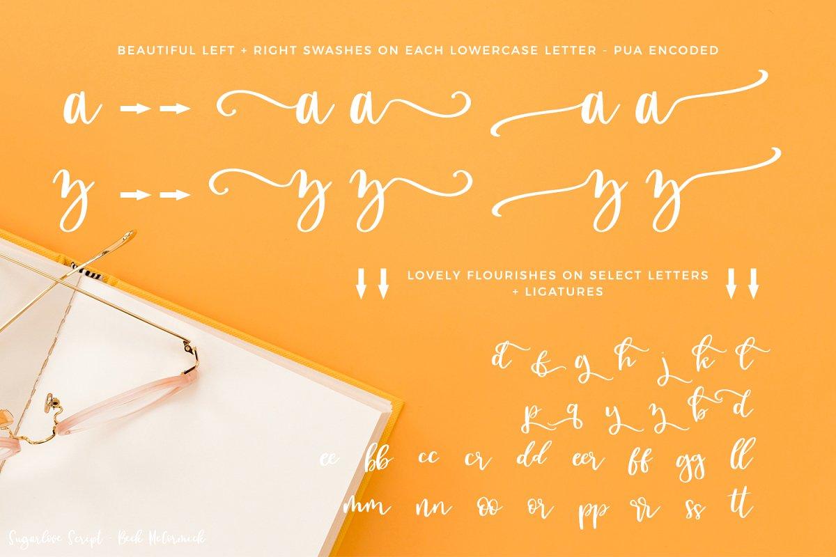 Sugarlove Calligraphy Font