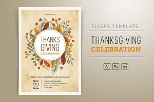 Thanksgiving Flyers