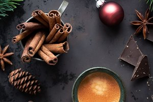 Christmas preparation concept