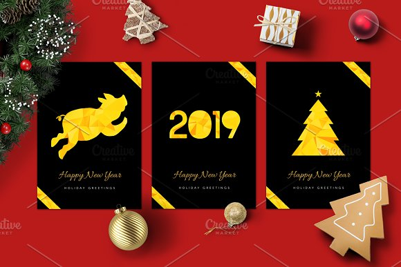 2019 happy new year cards cards