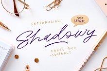 Shadowy Script + Symbols