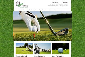 Fairway - Golf Club WordPress Theme