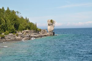 Rock Formations at the Coast