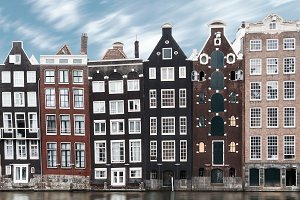 Traditional Amsterdam architecture