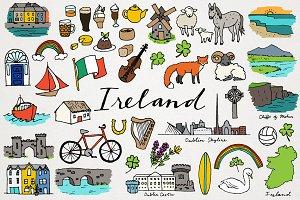 Ireland Clipart Illustrations