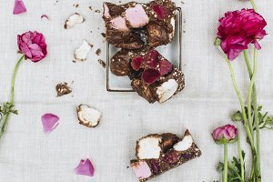 Colourful Rocky Road