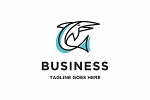 monoline swordfish logo
