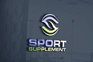 Sport Supplements | Letter S Logo
