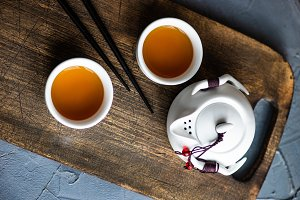 Asian tea concept