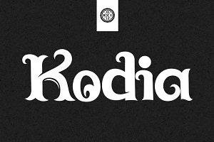 Kodia Font
