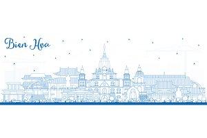 Outline Bien Hoa Vietnam City