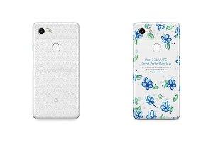 Google Pixel 3 XL UV PC Clear Case