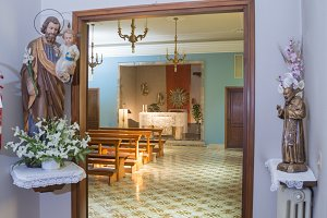 The chiesa luogo di culto e
