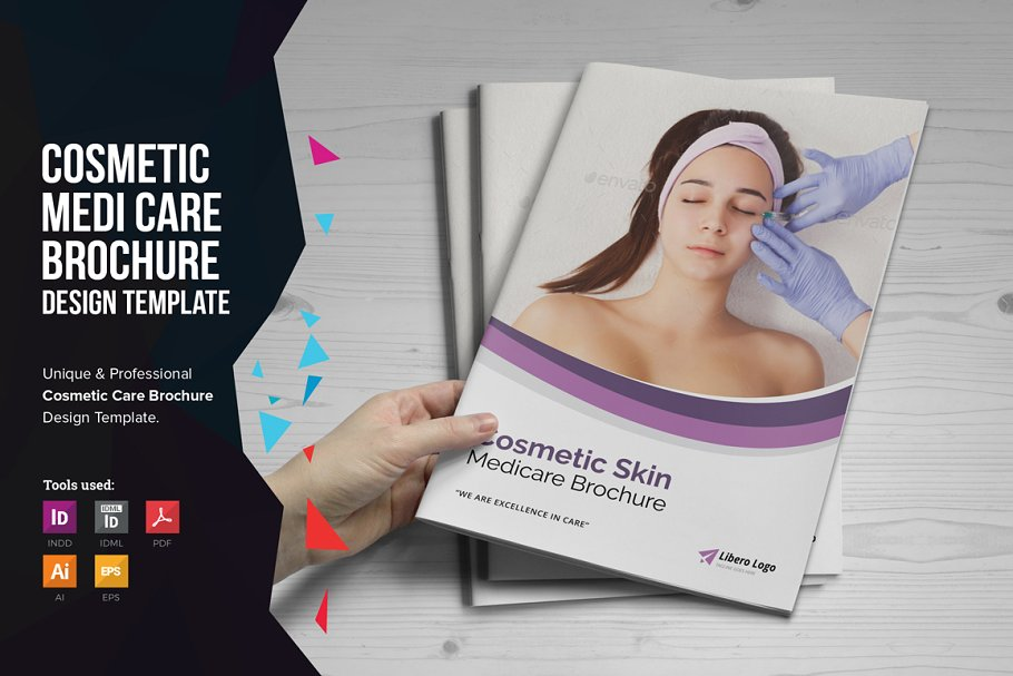 Medical Cosmetic Skin Care Brochure Brochure Templates