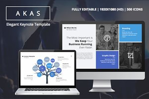 AKAS - KEYNOTE TEMPLATE