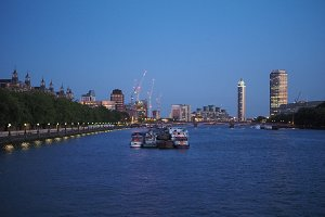 River Thames in London