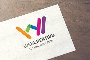 Letter W - Web Creativo Logo