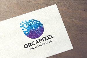 Letter O - Orcapixel Logo