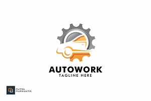 Auto Work - Logo Template