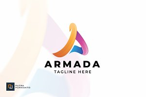 Armada / Letter A - Logo Template
