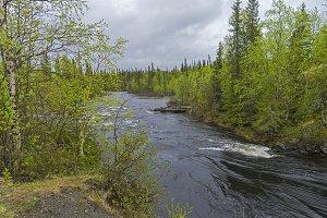 Vuosnayoki river, Russia.