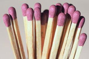 matches sticks for lighting fires