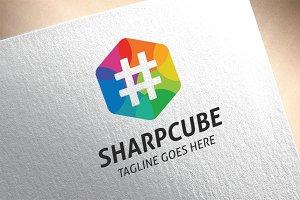 Sharp Cube Logo