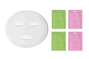 packaging with sheet mask