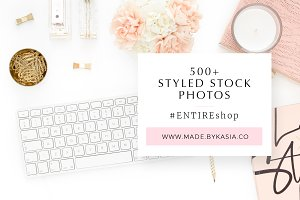 Sale | 500+ Styled Stock Photos