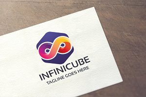 Infinity Cube Logo