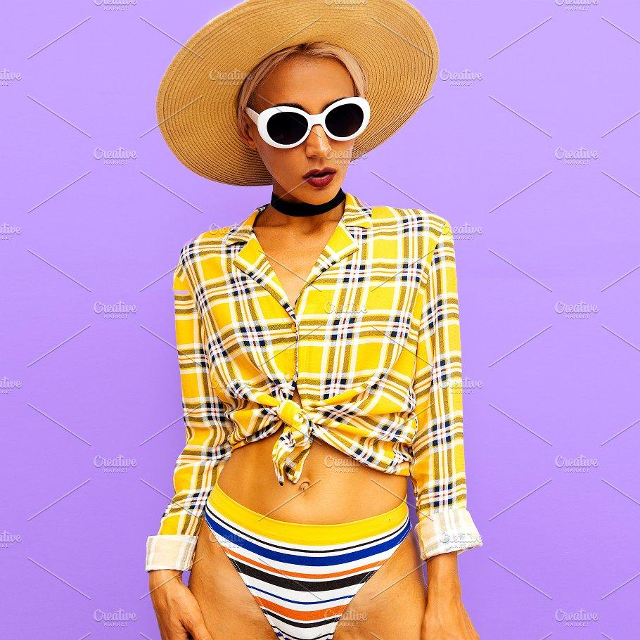 725679de55c8 Girl beach country style. Fashion ac ~ Beauty   Fashion Photos ~ Creative  Market