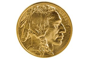 USA Gold Coin Obverse Side