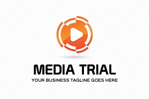 Media Trial Logo Template