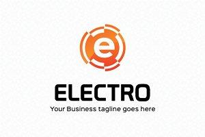 Electro Logo Template