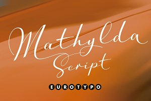 Mathylda Script