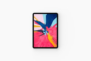 iPad Pro 2018 Presentation Mockups