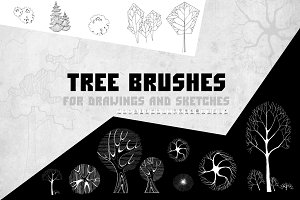ArchiTrees Brushes
