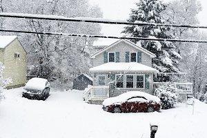 Snowy Suburbs