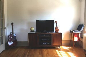 Dreamy Living Room Scene