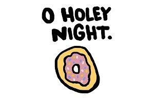 O Holey Night - Funny Christmas