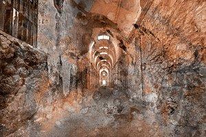 Acrylic Prison Corridor
