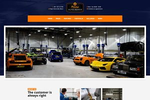 Pitstop - Car Repair WordPress Theme